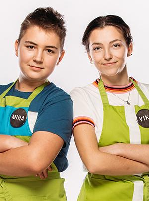 Miha in Vika