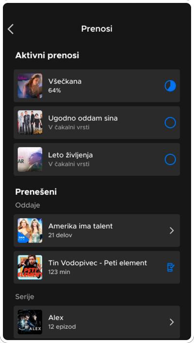 Voyo offline view